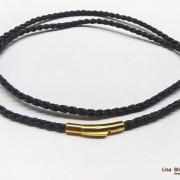 Плетёный капроновый шнурок для крестика 3 мм